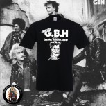 GBH LEATHER,BRISTLES,STUDS AND ACNE T-SHIRT