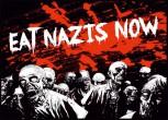 EAT NAZIS NOW STICKER (10 Stück)