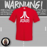 ATARI T-SHIRT ROT S