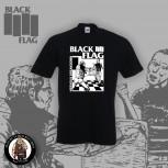 BLACK FLAG NERVOUS BREAKDOWN T-SHIRT SCHWARZ