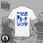BLACK FLAG NERVOUS BREAKDOWN T-SHIRT WEISS