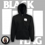 BLACK FLAG ZIPPER S
