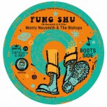 MONTY NEYSMITH & THE BISHOPS FUNG SHU/SKIN FLINT 7 VINYL ORANGE