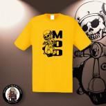 MOD SCOOTER T-SHIRT XXL / GELB