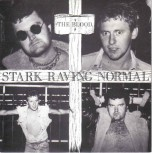 THE BLOOD STARK RAVING NORMAL 7 VINYL BLUE