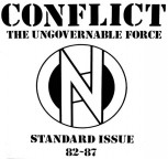 CONFLICT - STANDARD ISSUE 82-87 LP
