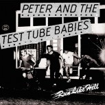 PETER & THE TTB RUN LIKE HELL 7 VINYL SCHWARZ