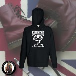 SKINHEAD A WAY OF LIFE HOOD Black / S