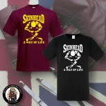SKINHEAD A WAY OF LIFE T-SHIRT