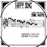 THE NIPS HAPPY SONG 7 VINYL SCHWARZ