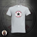 ANTIFASCIST ALLSTARS BLACK STAR T-SHIRT GRAU / 5XL