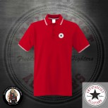 ANTIFASCIST ALLSTARS POLO 3XL / red