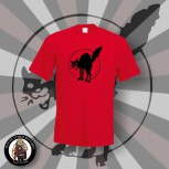 ANARCHO CAT T-SHIRT S