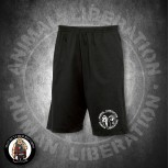 ANIMAL LIBERATION HUMAN LIBERATION SHORTS