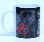 ANARCHOPUNK ANTIFASCIST KAFFEEBECHER