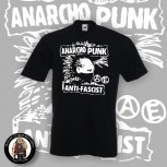 ANARCHO PUNK ANTIFASCIST T-SHIRT