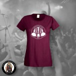 ANTIFASCIST OI! GIRLIE S / BORDEAUX ROT