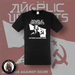 ANGELIC UPSTARTS ANTHEMS T-SHIRT SCHWARZ / 3XL