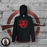 ANARCHO SKINHEAD HOOD S / RED