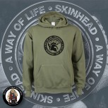 SHARP A WAY OF LIFE HOOD S / OLIVE