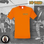 BAD BRAINS LOGO SMALL T-SHIRT 3XL / ORANGE