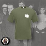 BLACK FLAG LOGO SMALL T-SHIRT XL / OLIVE