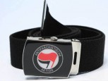 ANTIFASCHISTISCHE AKTION BELT ROT/SCHWARZ