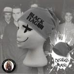 BLACK FLAG LOGO BEANIE GRAU