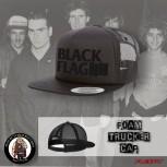 BLACK FLAG BLACK ON BLAG MESH CAP