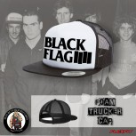 BLACK FLAG LOGO MESH CAP