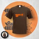 BIG SHOT T-SHIRT XXL / BRAUN