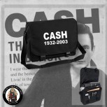 CASH 1932 - 2003 MESSENGER BAG SCHWARZ