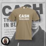 CASH 1932 - 2003 T-SHIRT S / BEIGE