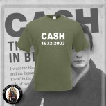 CASH 1932 - 2003 T-SHIRT XL / OLIVE