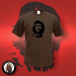CHE HEAD T-SHIRT S / brown