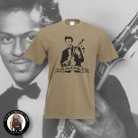 CHUCK BERRY T-SHIRT XL / BEIGE