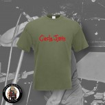 CIRCLE JERKS LOGO T-SHIRT XL / OLIVE