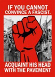 IF YOU CANNOT CONVINCE A FASCIST STICKER (10 STÜCK)
