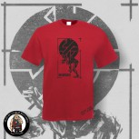 CRASS FIGHT WAR NOT WARS T-SHIRT S / red