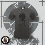 CRASS FIGHT WAR NOT WARS T-SHIRT L / DARK GREY