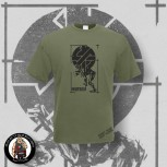 CRASS FIGHT WAR NOT WARS T-SHIRT S / OLIVE