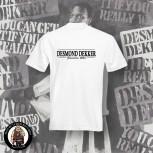 DESMOND DEKKER JAMAICA SKA T-SHIRT White / 5XL