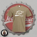 ENJOY SOUL MUSIC T-SHIRT M / BEIGE