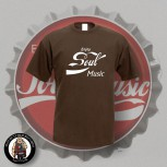 ENJOY SOUL MUSIC T-SHIRT S / BRAUN