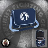 FEMINIST FIGHTING CLUB MESSENGER BAG NAVY