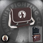 FEMINIST FIGHTING CLUB MESSENGER BAG BRAUN