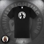 FEMINIST FIGHTING CLUB T-SHIRT SCHWARZ / XL