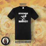 HEITER BIS WOLKIG MANIFEST T-SHIRT
