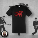 THE JAM LOGO T-SHIRT SCHWARZ / S / ROT