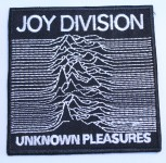JOY DIVISION PATCH BLACK